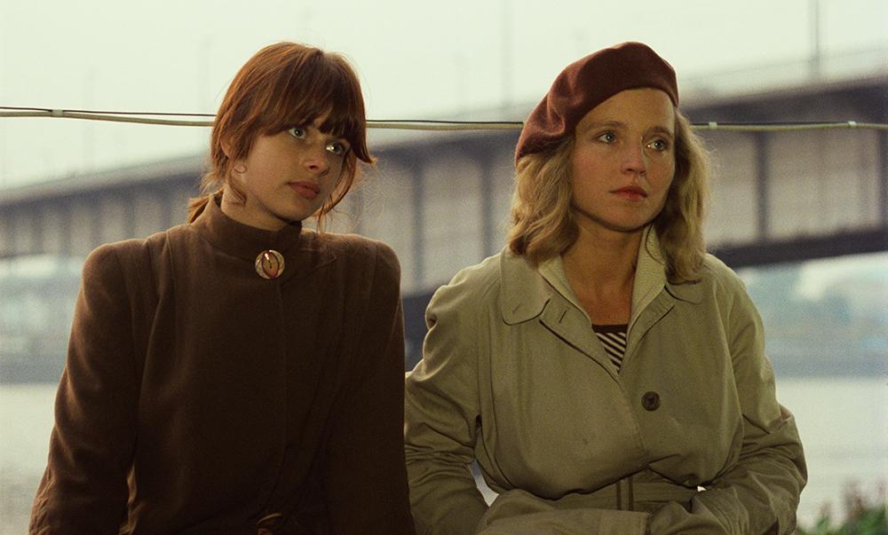 """Nastassia Kinski und Hanna Schygulla in """"Falsche Bewegung"""" (Wim Wenders Stiftung)"""